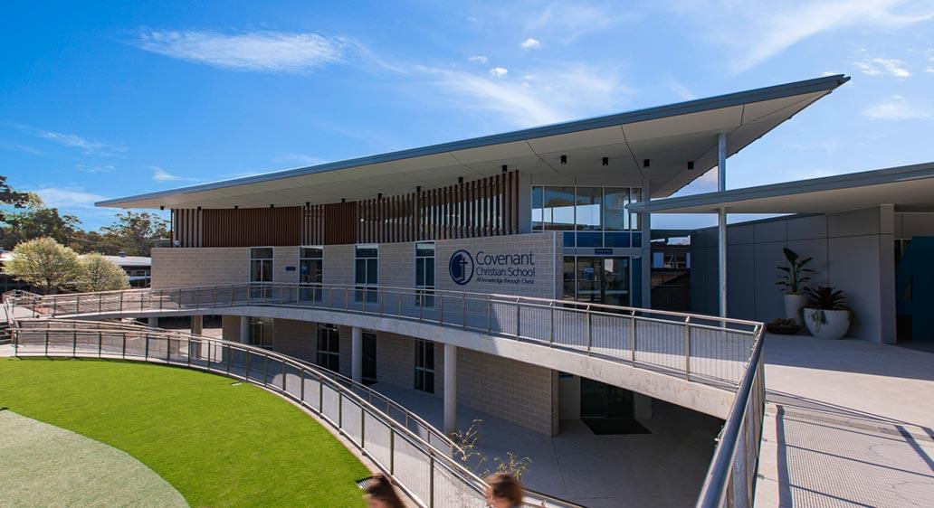 Covenant Christian School: Administration Block, Belrose NSW