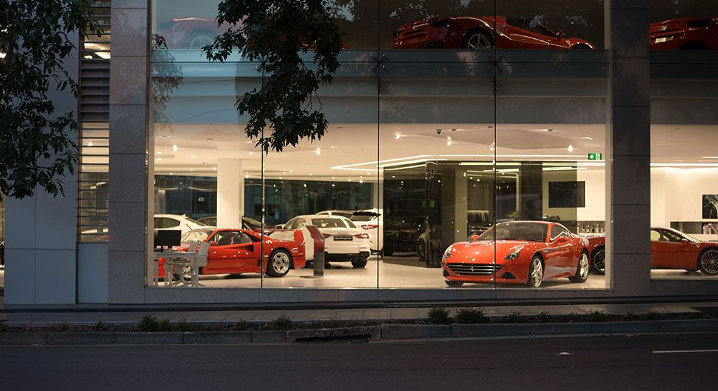 Ferrari Showroom, Waterloo NSW