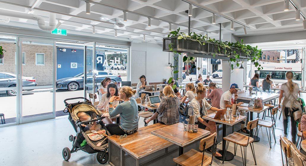 Heart Cafe, Bondi Beach NSW