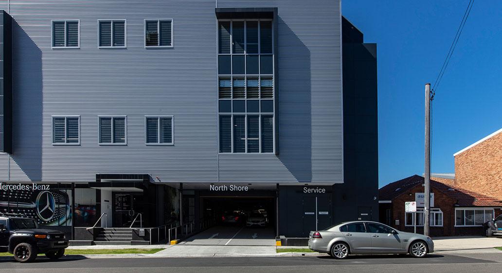 Mercedes Benz Service Centre, Artarmon NSW