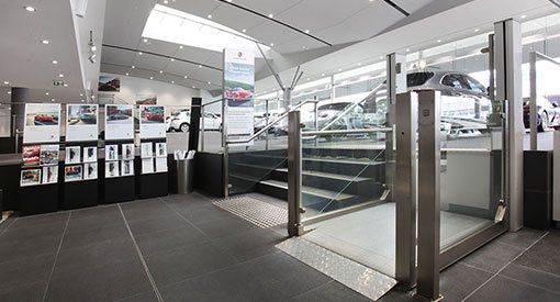 Porsche Showroom, Parramatta NSW