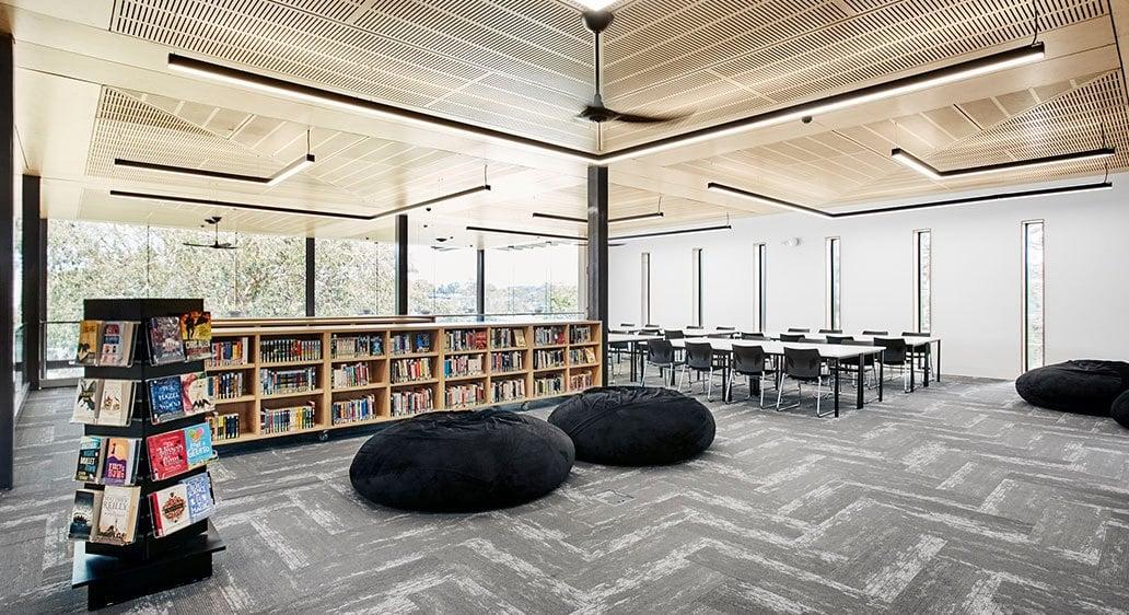 St Pius X High School – Library, Adamstown