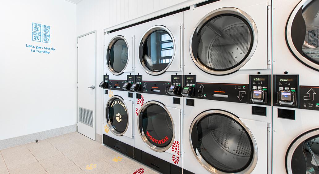 Tumble Lounge Laundromat, Cooks Hills