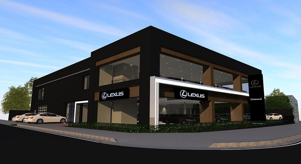 Lexus Showroom, Chatswood NSW