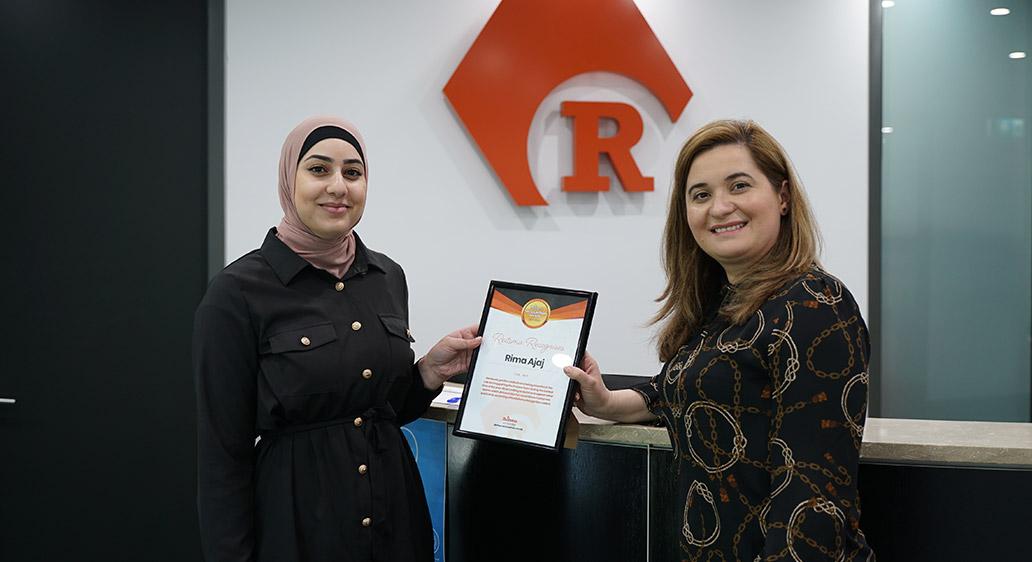 Reitsma Recognition Award – Rima Ajaj