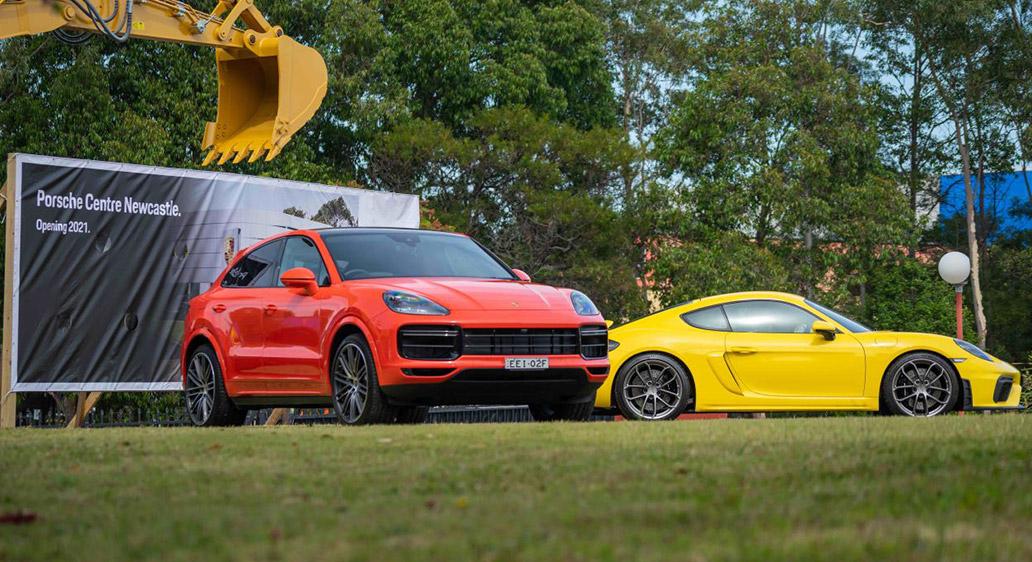 Porsche Centre Newcastle ground-breaking ceremony