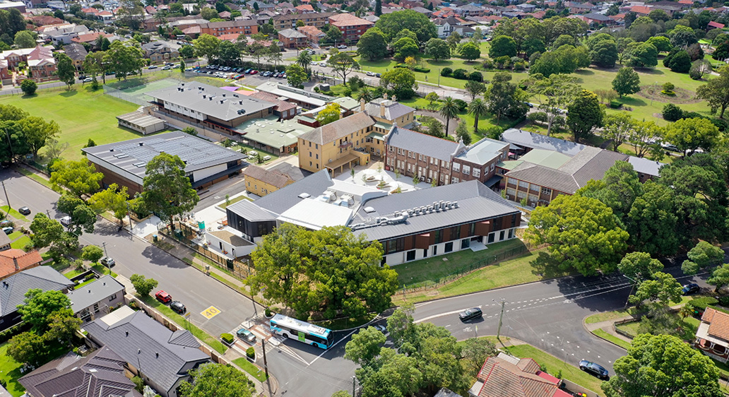 Sneak peek of the recently completed Domremy Catholic College, Five Dock NSW
