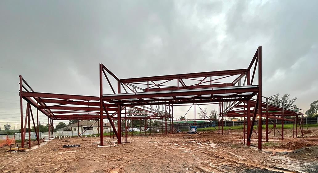 Project update: Bethel Mar Thoma Church, Horsley Park