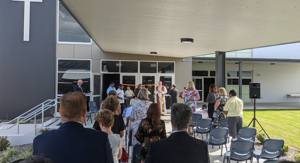 Opening and Blessing – St Brendan's Primary School, Lake Munmorah