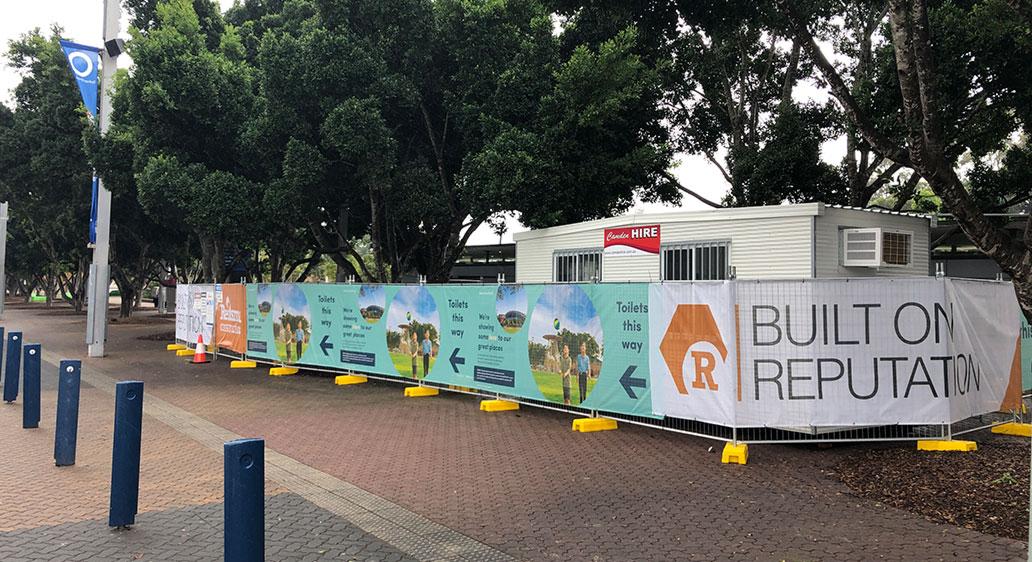 SOPA Amenities Refurbishment, Sydney Olympic Park